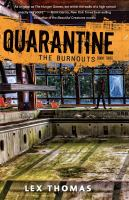 The Burnouts by Thomas, Lex © 2014 (Added: 7/13/17)