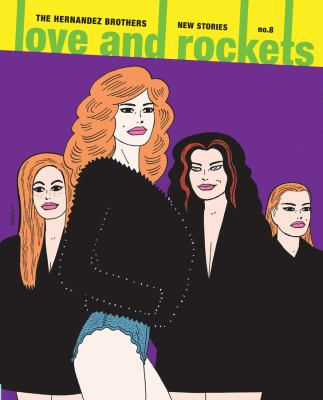 cover of Love and Rockets 8: New Stories