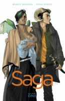 Cover art for Saga vol 1