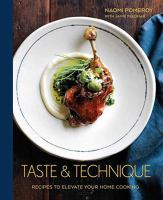 Cover art for Taste and Technique