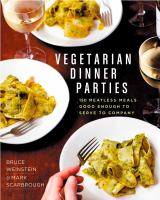 Cover art for Vegetarian Dinner Parties