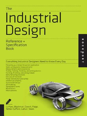Book jacket for The Industrial Design Reference and Specification Book