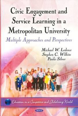 Civic engagement and service learning book cover