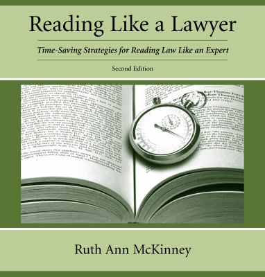 Reading Like a Lawyer book cover