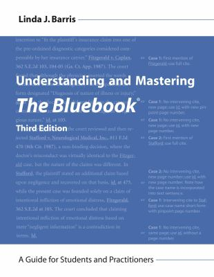 Understanding and Mastering the Bluebook