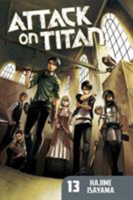 cover of Attack on Titan 13