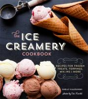 Cover art for The Ice Creamery Cookbook