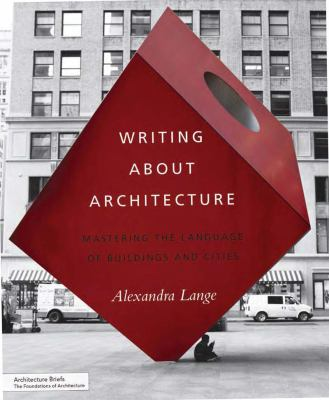Book cover of Writing About Architecture