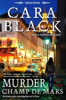 Murder On The Champ De Mars by Black, Cara © 2015 (Added: 3/3/15)