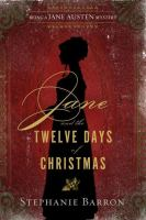 Book cover: Jane and the Twelve Days of Christmas by Stephanie Baron