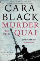 Cover art for Murder on the Quai
