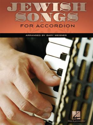 Cover image for Jewish songs for accordion