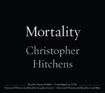 Cover image for Mortality 