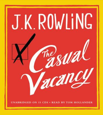Cover image for The casual vacancy