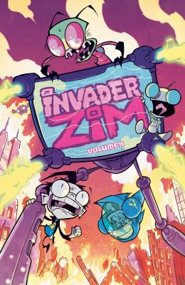 cover of Invader Zim 1