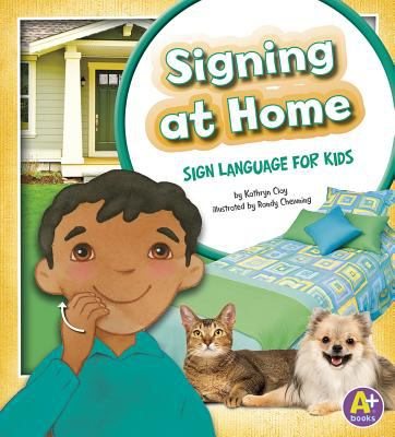 cover of Signing at Home: Sign Language for Kids