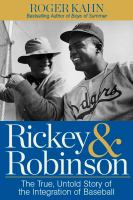 Cover art for Rickey & Robinson