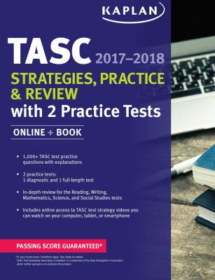Cover image for TASC : strategies, practice & review ... : Test Assessing Secondary Completion.