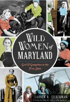 Cover for Wild Women of Maryland