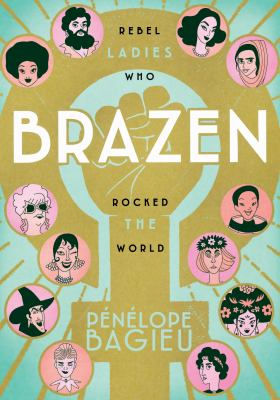 Book cover art for Brazen