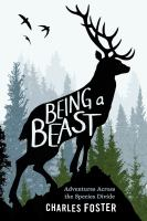 Book cover of Being a Beast