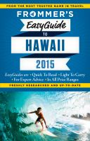 Frommer's Easyguide To Hawaii by Foster, Jeanette © 2015 (Added: 8/13/15)