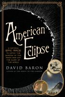 Cover art for American Eclipse
