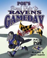 Book cover of Poe's Road Trip to Ravens Gameday