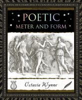 Cover art for Poetic Meter and Form