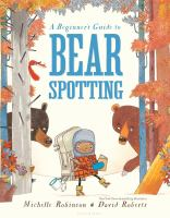 Cover art for A Beginner's Guide to Bear Spotting