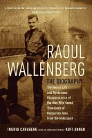 Cover art for Raoul Wallenberg