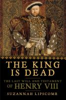 Cover art for The King is Dead