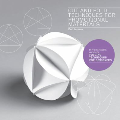 A book cover featuring a round paper sculpture. The title text is in white on a gray background.