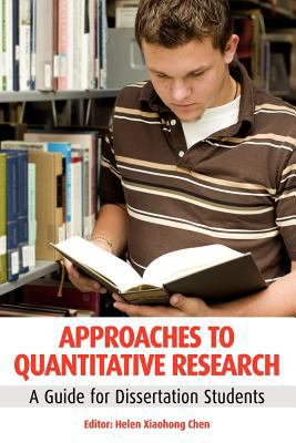 Book jacket for Approaches to Quantitative Research: A Guide for Dissertation Students