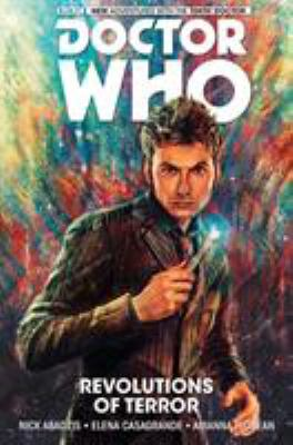 cover of Doctor Who: The Tenth Doctor 1: Revolutions of Terror