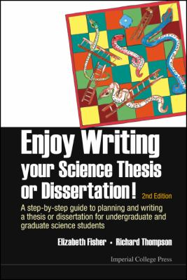 Enjoy Writing Your Science Thesis or Dissertation! cover