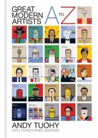 Cover art for A to Z Great Modern Artists by Andy Tuohy
