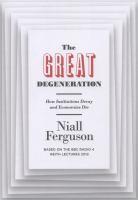 The great degeneration