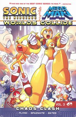 cover of Sonic the Hedgehog/Mega Man: Worlds Collide Vol. 3