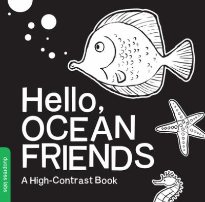 cover of Hello, ocean friends : a high-contrast action book