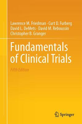 Cover Art for Fundamentals of Clinical Trials book