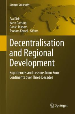 cover art for Decentralisation and Regional Development