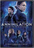 Annihilation (movie cover)