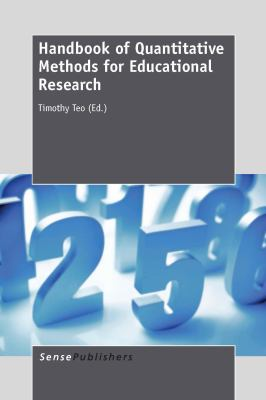 Book jacket for Handbook of Quantitative Methods for Educational Research