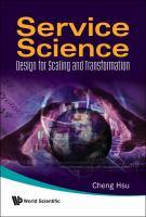 Service Science catalog link