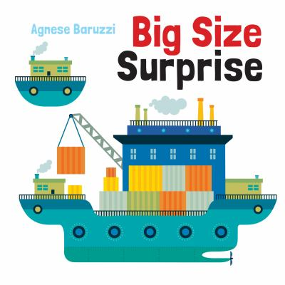 Cover image for Big size surprise