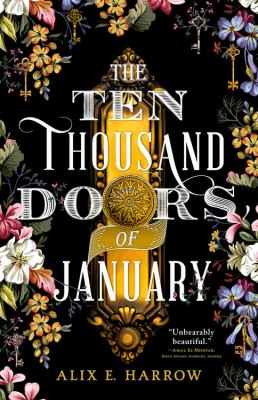 Picture of book cover for The ten thousand doors of January