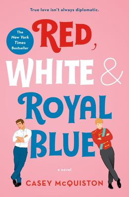 Picture of book cover for Red, white & royal blue