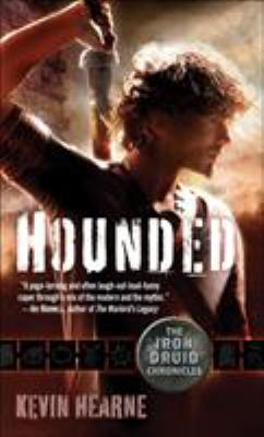 Picture of book cover for Hounded