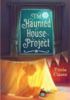 book jacket for The Haunted House Project